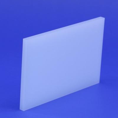 Zuschnitt Acrylglas opal weiss