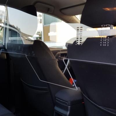 Trennscheibe für Fahrzeuginnenraum