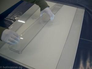 Wechselrahmen aus Acrylglas