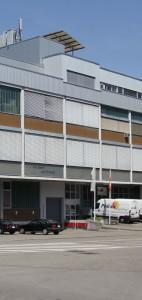 Gebäude der Firma hofmänner ag
